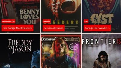 Versprochen werden «drei volle Tage Horrorgenuss auf Fünf-Sterne-Niveau». (Bild: zvg/Screenshot)