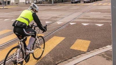 Unter Velofahrern gilt der Unfallort am Luzernerring als besonders gefährlich. (Nicole Nars-Zimmer)