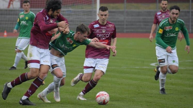In Bellinzona gab es am letzten Samstag für Brühl eine wichtigen Punkt um die Qualifikation in die Aufstiegsrunde. (Bild: Andrin Brändle/ SCB (10.4.2021))