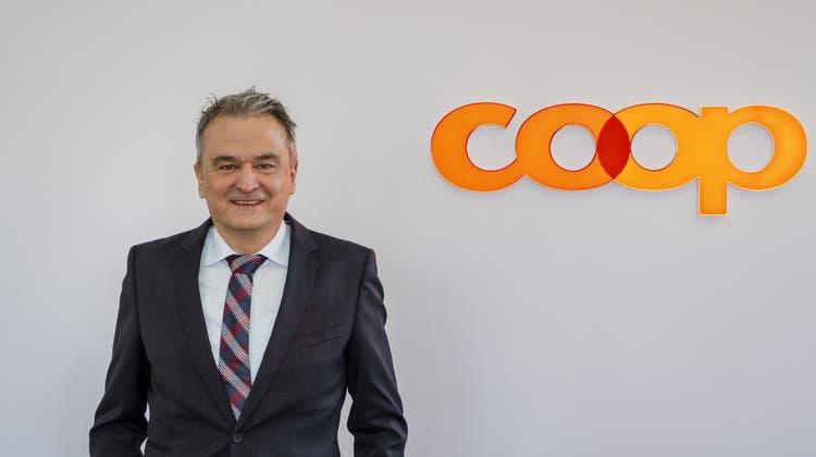 Seit 2011CEO der Coop-Gruppe und nun neuer VR-Präsident: Joos Sutter. (Keystone)