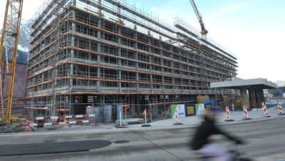 Die Prognose hängt von der Entwicklung des neuen Kantonsbahnhofs in den kommenden Jahren ab. (Bild: Urs Hanhart (Altdorf, 19. Dezember 2020))