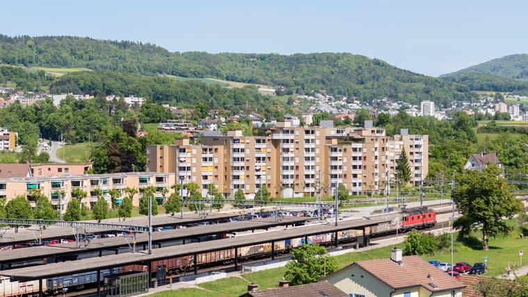 Könnte ab 2024 zur Stadt Baden gehören: Das Bahnhofareal in Turgi. (Sandra Ardizzone)