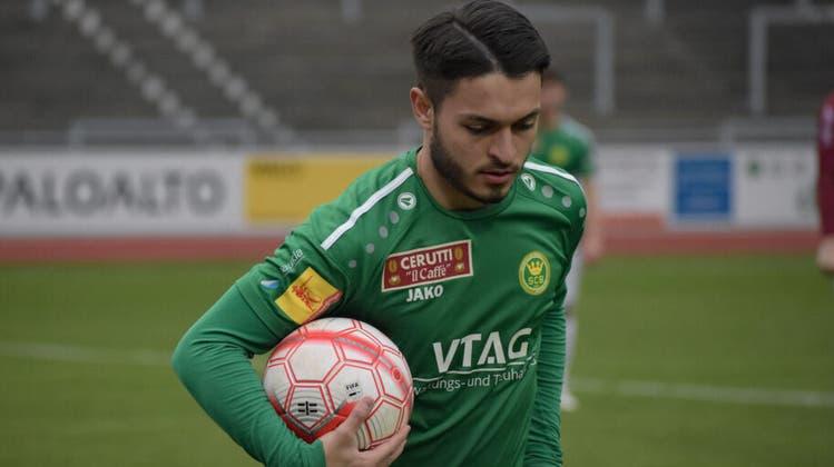 Nach dem Spiel gegen YF Juventus wird SC-Brühl-Spieler Lirim Shala schon am Mittwoch im Paul-Grüninger-Stadion erneut auf Torjagd geschickt. (Bild: SCB)