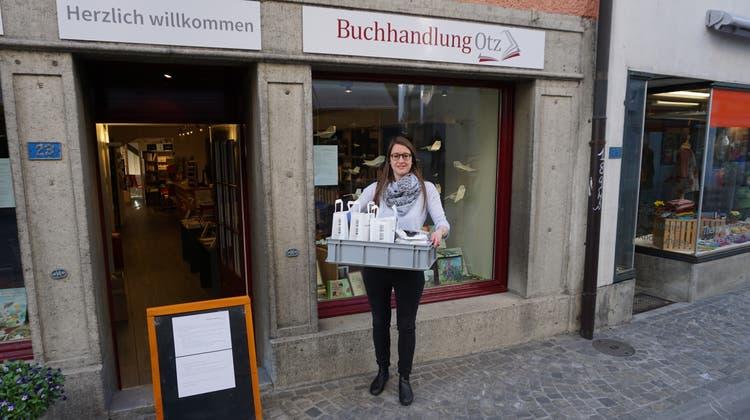 Kathrin Steinmann ist Geschäftsführerin der Buchhandlung Otz in Lenzburg. (Zvg)