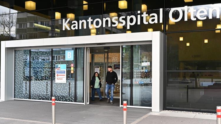 Die Corona-bedingtenAusfälle der Spitäler – hier das Kantonsspital Olten sollen überbrückt werden. (Bruno Kissling)