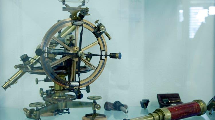 Dafür war die Schweiz berühmt: Präzisionsinstrumente der Firma Kern AG, Aarau. (Hans-Peter Baertschi)
