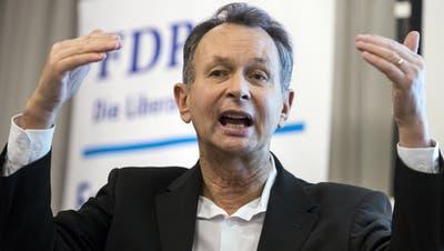 Als Ständerat drehte Philipp Müller die ganze FDP-Fraktion in Sachen Rahmenabkommen und Unionsbürgerrichtlinie. (Keystone (Bild: Oberdorf NW, 24. Januar 2019))
