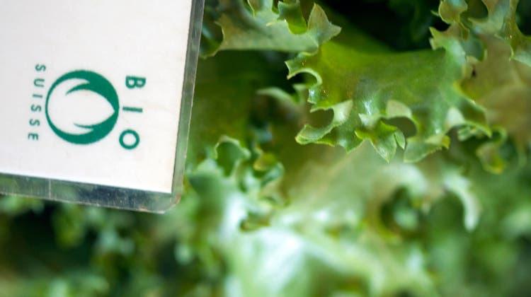 Die Bio-Suisse-Delegierten wollen kein zweites Label neben der Knospe. (Symbolbild) (Keystone)