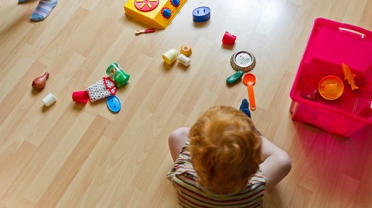 Kinder mit Behinderungen haben nicht die gleichen Chancen auf einen Kita-Platz wie Kinder ohne Behinderungen. (Keystone)