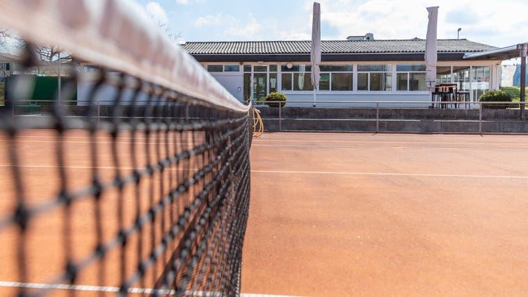 Clubhaus Tennisclub Lenzburg. (Fabio Baranzini)