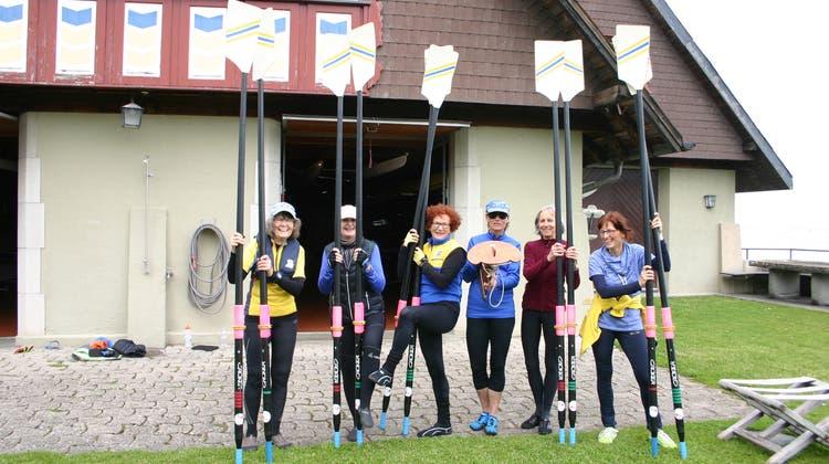 Heute sind 35 Frauen im SeeclubRorschach aktiv. Sie rudern sowohl in Frauenbooten als auch in Booten mit gemischter Besetzung. (Bild: Fredy Haag)
