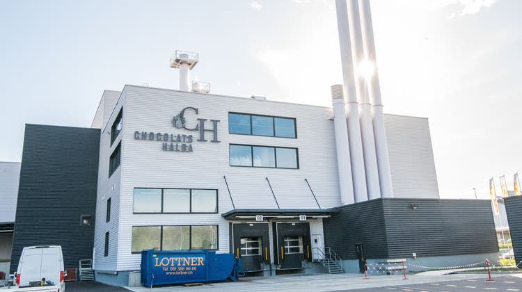 Halba-Produktionsstätte in Pratteln. (Nicole Nars-Zimmer)