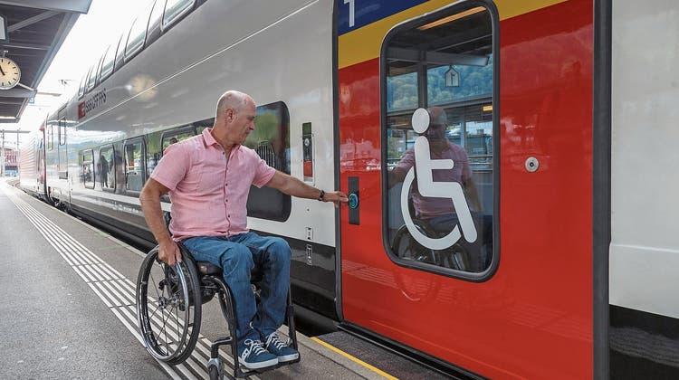 Bis 2023 sieht das Gesetz (BehiG) barrierefreie Zugänge für alle Bahnhöfe vor. Dazu müssen die SBB in Schönenwerd die Perrons erhöhen.