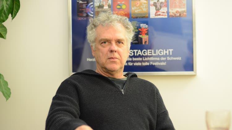 Peter Lemmenmeier will seine Firmadurch die Krise bringen. (Bild: Karin Erni)