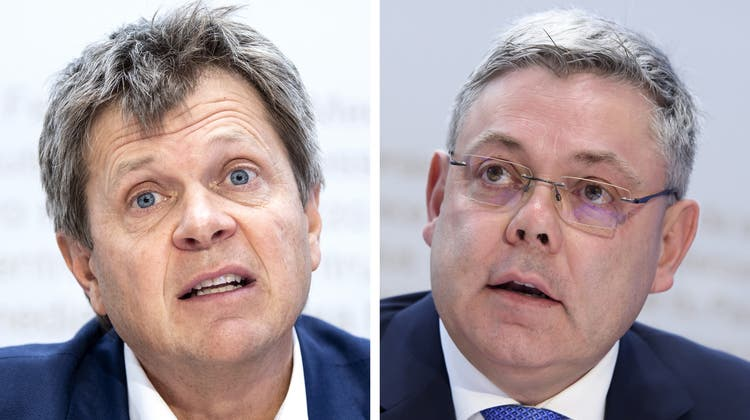 Der Parteipräsident der Grünliberalen, Jürg Grossen (Oktober 2018). (Urs Flueeler / KEYSTONE)