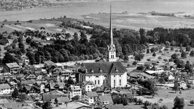 Die Pfarrkirche St.Maria Magdalena in Alpnach. (Bild: Nadia Schaerli (Alpnach, (8. April 2021))