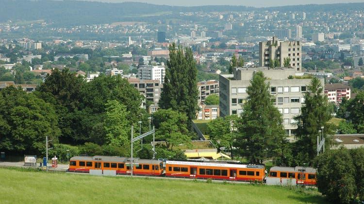Sihltal-Zürich-Üetliberg-Bahn: Noch enden die Fahrten im Hauptbahnhof. (Bild: Matthias Scharrer)