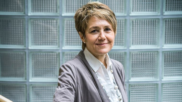 Sabina Peter Köstli, neue Kandidatin für das Hüttwiler Gemeindepräsidium. (Bild: Andrea Stalder)