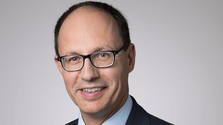 Marc Mächler, neuer Regierungspräsident. (Bild: Anna Tina Eberhard)