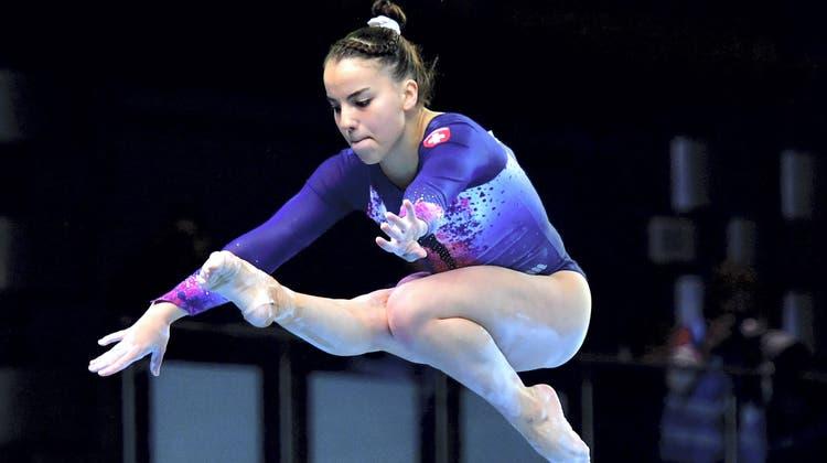 Ihr letzter Wettkampf liegt schon lange zurück: Corona raubte Anina Wildi eine ganze Saison. (Marcin Bielecki / EPA PAP)