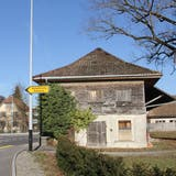 Die Fröhlich-Scheune an der Zurzacherstrasse in Brugg gehört dem Bund. (Bild: Claudia Meier (20. Februar 2021))
