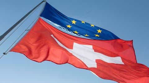 Ein Nein zum Rahmenabkommen genügt nicht: Die FDP-Ständeräte Damian Müller (LU) und Ruedi Noser (ZH) plädieren für einen nächsten Schritt. (Gaetan Bally / KEYSTONE)