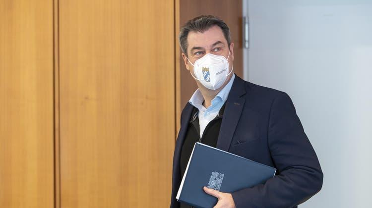 Markus Söder wird nicht nächster Bundeskanzler Deutschlands. (Peter Kneffel / AP)