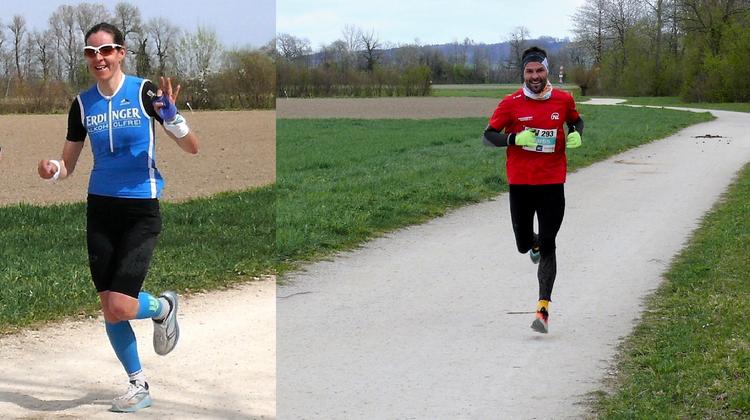 Gertrud Wiedemann (Zuchwil) undMartin Zürcher (Weier im Emmental)gewannen den 2. Limited Edition Run. (H. Stettler / OK Limited Edition Run)