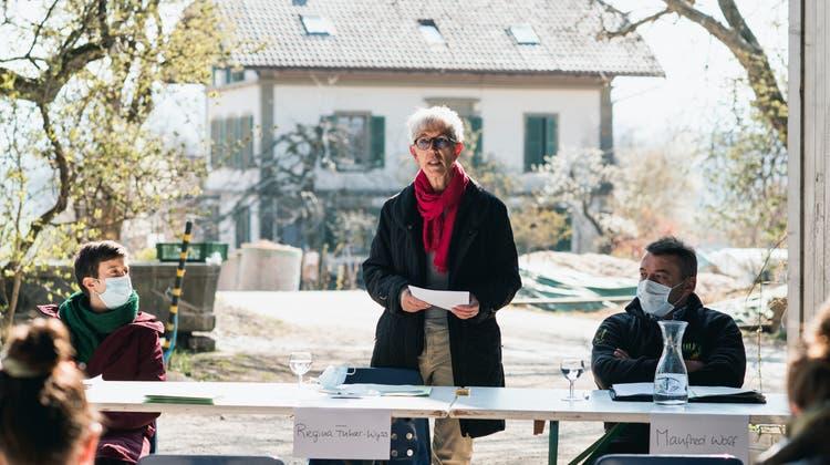 Regina Fuhrer-Wyss, Präsidentin der Kleinbauern-Vereinigung, unterstützt diePestizid-Initiative. (HO/Kleinbauern-Vereinigung)