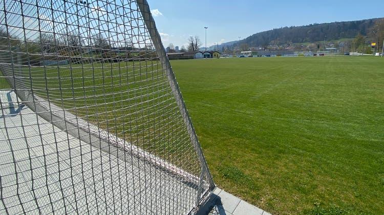 Der FC Villmergen möchte seine Tore auf dem Hauptplatz der Anlage Badmatte ersetzen. (Marc Ribolla)