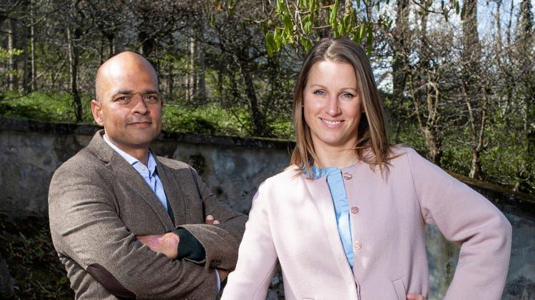 Die Unternehmer Robin Deb Jensen  und seine Frau Marloes Tjalsmaübernehmendas Restaurant. (Bild: Britta Gut)