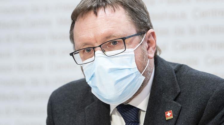 Will der mächtigste Oberzolldirektor aller Zeiten werden: Zolldirektor Christian Bock. (Keystone)