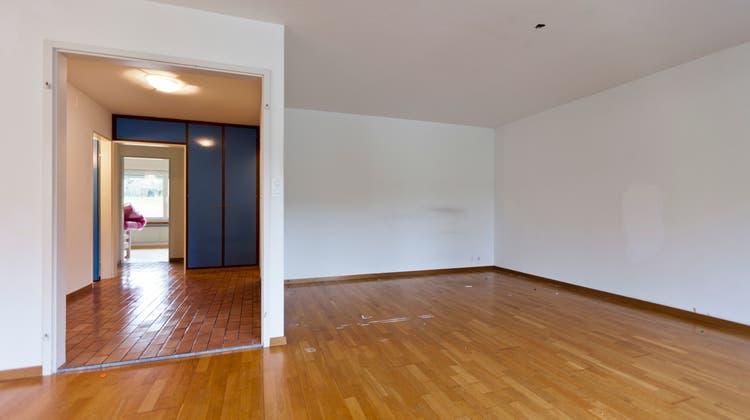 Ein Grossteil der Wohnungen in den Städten haben drei Zimmer. (Keystone)