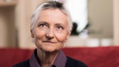 Erika Preisig in ihrem Sterbezimmer. (Severin Bigler (Liestal, 8.4.2021))