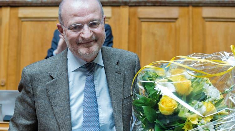 Fulvio Pelli 2014 bei seiner Verabschiedung aus dem Nationalrat. Nun ist er Gemeinderat von Lugano. (Keystone)