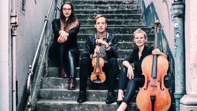 Das Trio Onyx eröffnet am Wochenende neu den Seeklang Hergiswil - Plätze hat es noch für das Konzert am Sonntag, 11 Uhr. (Zvg / zvg)