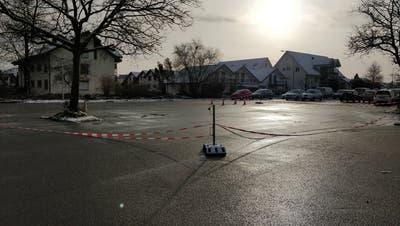 """Unfallort oder Tatort: Der """"Sulzer-Parkplatz"""" in Zuchwil (Ornella Miller)"""