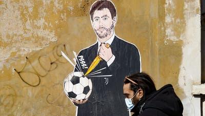 Andrea Agnelli: Der Totengräber des Fussballs? (Keystone)