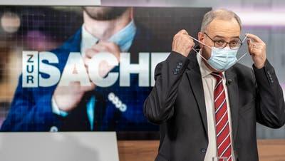 Bundesrat Guy Parmelin verhandelt am Freitag das Rahmenabkommen in Brüssel. In der TVO-Sendung «Zur Sache» kommen zwei Ostschweizer Politiker zu Wort. (Bild: Arthur Gamsa)
