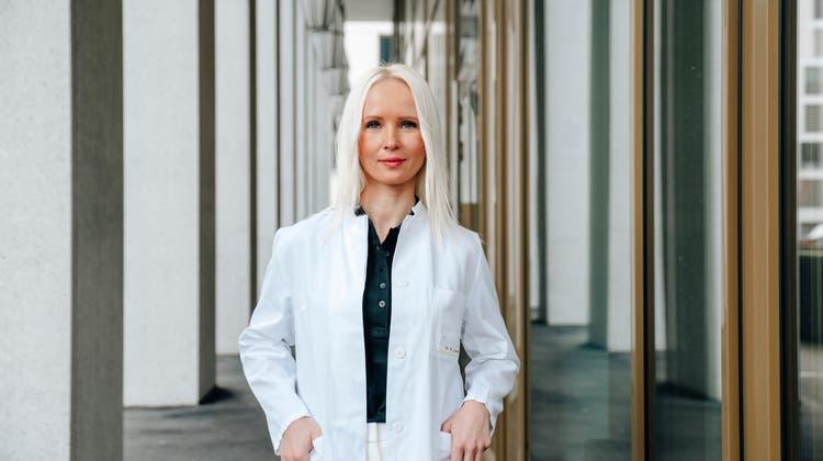 Rosalia Luketina (36), Fachärztin für Plastische und Ästhetische Chirurgie, Skinmed Lenzburg.