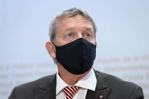 Casimir Platzer, Präsident GastroSuisse.