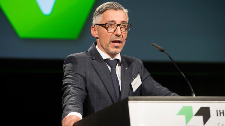 Markus Bänziger, Direktor Industrie- und Handelskammer St.Gallen-Appenzell. (Bild: Ralph Ribi)