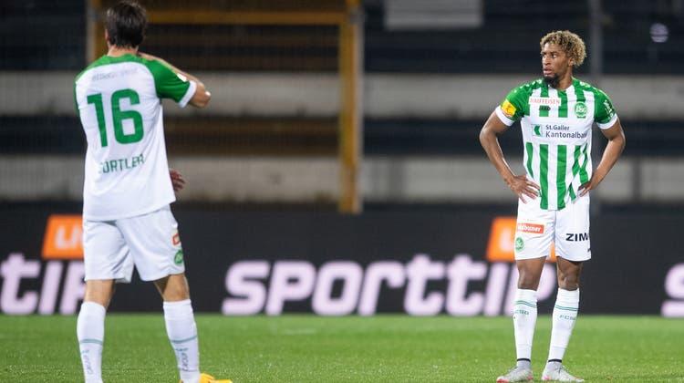 Milan Gajic sicherte seinen Vaduzern mit dem Elfmeter in der 85. Minute noch einen Punkt. (Christian Merz / KEYSTONE)