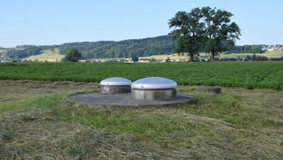 Weil die Chlorothalonil-Werte zu hoch waren, musste die Wasserfassung Eichholz in Wohlen im Sommer 2019 vom Netz genommen werden. (Bild: Cornelia Schlatter)