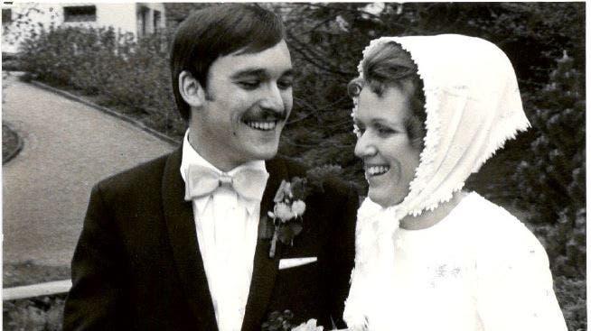 Herzliche Gratulation zur Goldenen Hochzeit