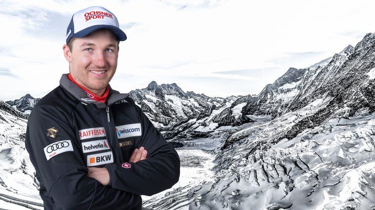 Cédric Noger gehört nach einer verkorksten Saison nur noch dem C-Kader von Swiss-Ski an. (Bild: PD)