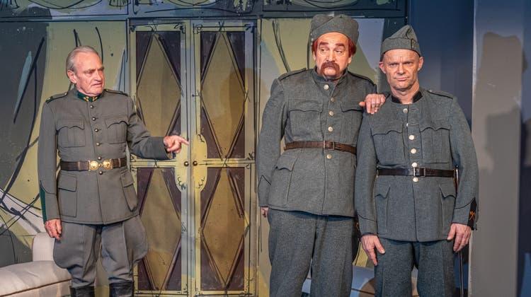 Allen Widrigkeiten zum Trotz freut sich Theatermacher Helmut Förnbacher, dass die alte Dame wieder zu Besuch kommen darf. (Bild: Kenneth Nars)
