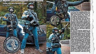 Die Rambos von «General» Bock – wie die bisher diskrete Sondereinheitdes Zolls plötzlich grossspurig in Szene gesetzt wird