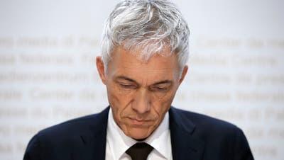 Michael Lauber: Unter seiner Ägide wurde die Bundesanwaltschaft zuletzt zu einer eigentlichen Belastungsprobe für die Schweizer Justiz. (Keystone)