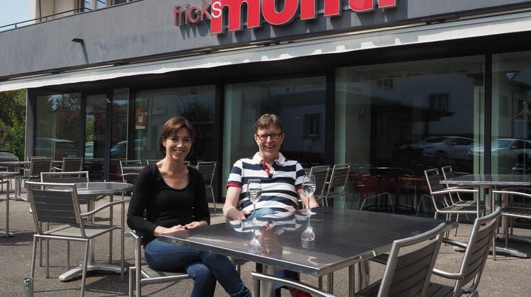 Martina Welti und Philipp Weiss öffnen Fricks Monti am Freitag wieder. (Thomas Wehrli / Aargauer Zeitung)